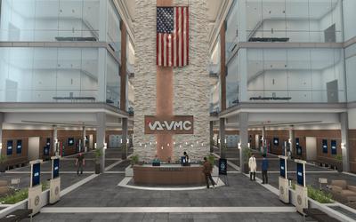 VA VMC Main Lobby