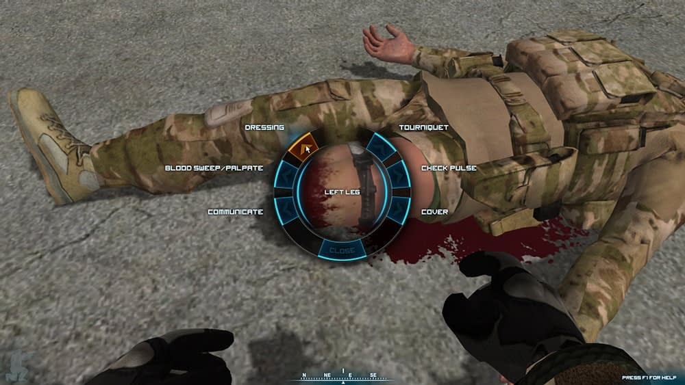 Tactical Combat Casualty Care Simulation (TC3 Sim) with